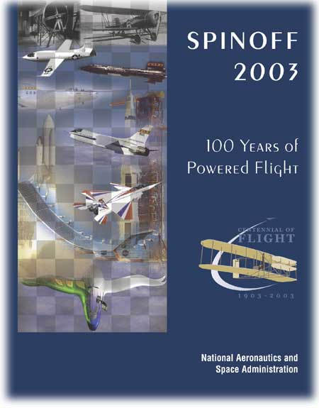 Cover montage illustrating several of the many contributions made by NASA during the Centennial of Flight